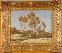 paysage de campine animé by alphonse asselbergs