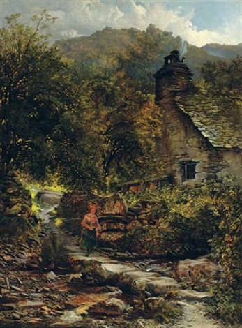 the stepping stones pentre du betws y coed by charles pettitt
