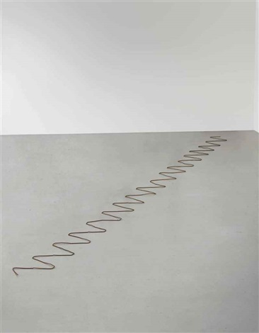 35 steel staple run in 35 parts by carl andre
