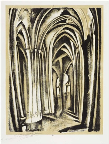 saint severin by robert delaunay
