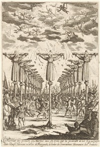 les martyrs de japon by jacques callot