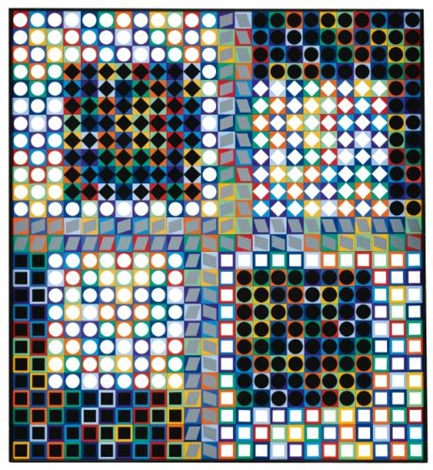 our mc 2 by victor vasarely