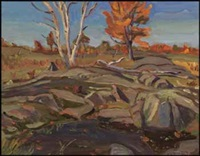 autumn - dunrobin by ralph wallace burton