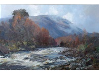 autumn river by archibald kay