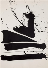 automatism b by robert motherwell