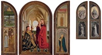 the wyts (triptych) by jan van eyck