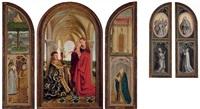 the wyts (triptych) by jan van eyck