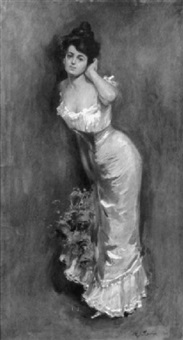 an elegant lady by charles chase emerson