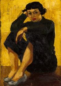 sarah affonso portrait by eduardo viana