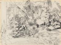 paysage by raymond jean legueult