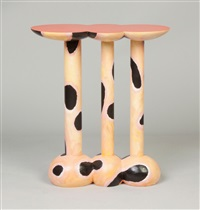 side table by wendell castle