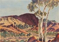 landscape by herbert raberaba