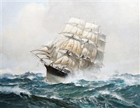 the american clipper dreadnought by leslie arthur wilcox