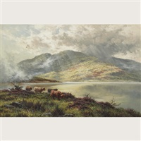 loch shiel by henry decon hillier