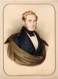 portrait von heinrich gustav clauss by ignaz rungaldier