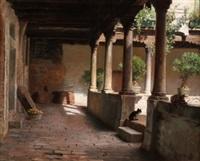 patio con columnas by nicolás (jiménez caballero navarro) alpériz