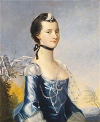 portrait of a lady by henry pickering
