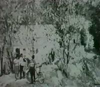facteur de village by nikolai tchouprina