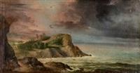 paisaje costero by genaro perez villaamil