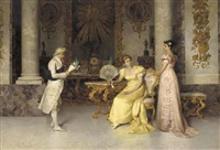 the suitor's visit by francesco beda
