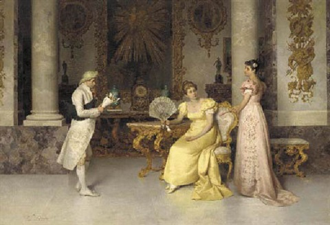 the suitors visit by francesco beda