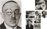 museum series portfolio number 2: portraits (28 works) by alexander rodchenko