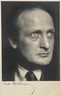 die 4 thimigs, hans albers, paul wegener (3 works) by trude fleischmann