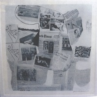features from currents, #74 by robert rauschenberg