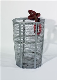 chain trashcan by mark handforth