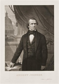 andrew johnson by william sartain