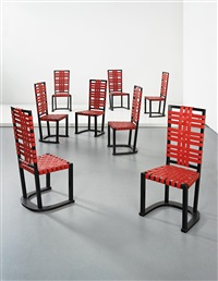 futurum dining chairs (set of 8) by axel einar hjorth