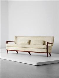écusson' sofa by jean royère