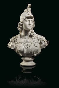 bust of minerva by anonymous-italian