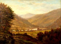 the valley below by george frank higgins