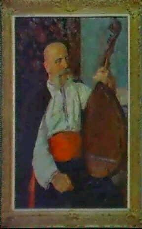 le joueur de kubsa by aleksandr maksimenko