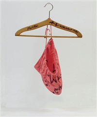 hood & coathanger by jean-michel basquiat and andy warhol