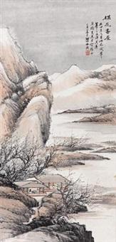 梅花书屋图 by liang boyu