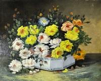 bouquet de fleurs by emile godchaux