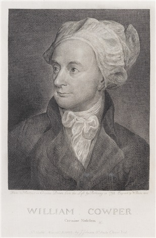 cowper william 1731 1800 after george romney by william blake