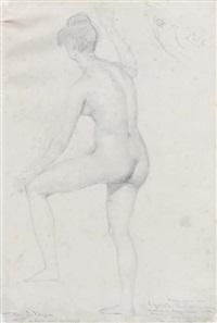 portrait d'homme de profil by pierre jean david d' angers