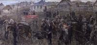 kollektivierung der russischen bauern by alexei pavlovich krasnov