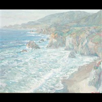 california coast by william dorsey