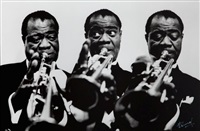louis armstrong by luc fournol