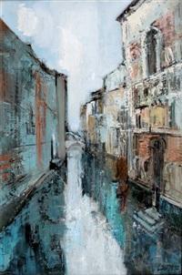 un canal a venise by albert lauzero