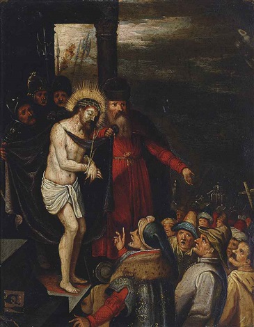 ecce homo by ambrosius francken the younger
