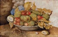 natura morta con frutta (+ another; 2 works) by teresa berenice vitelli