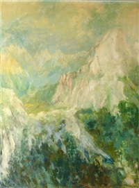 the peak of uccello, apuan alps by clifford fishwick