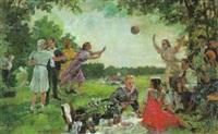 ausflug mit picknick by alexandre komarov