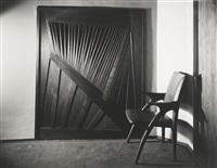 portfolio of photographs of wharton esherick commissions (portfolio of 27) by edward w. quigley