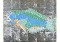 japanese parrot fish by junji kawashima
